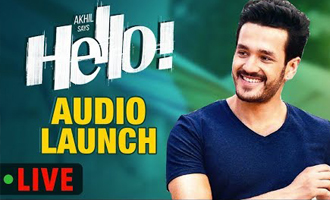 HELLO Audio Launch Live