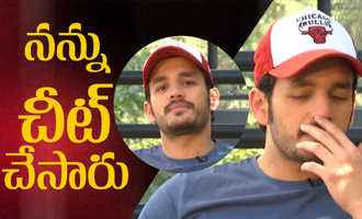 I was cheated by him: Akhil Akkineni Hello Movie