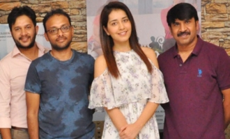 'Jamba Lakidi Pamba' Lyrical Video song Launch By Rashi Khanna