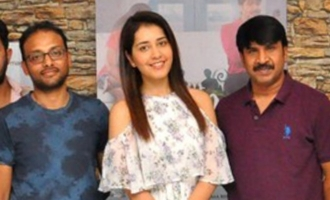 Rashi khanna Launched Jambalakidi Pamba movie Song