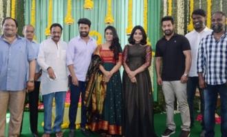 Kalyan Ram-Shalini-Nivetha movie launched