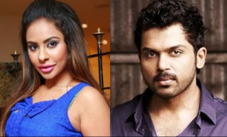 Don't give useless suggestions, Sri Reddy tells Karthi