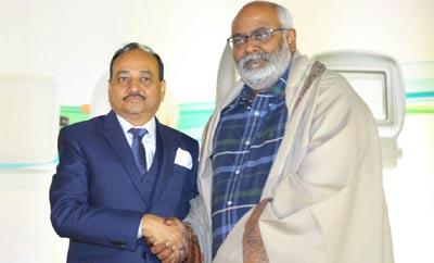 Keeravani unveils Loyal Led lights in Hyderabad