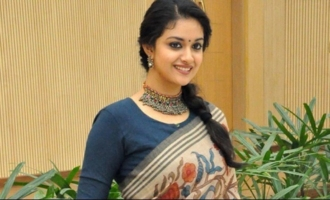 Keerthy Suresh is overwhelmed with joy