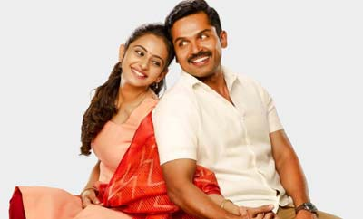 Karthi & Rakul feet 'Khakee' is in safe 'Aditya' hands