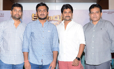 'Krishnarjuna Yuddham' Press Meet