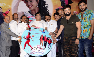'Lavanya With Love Boys' Audio Launch