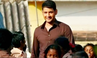 Mahesh Babu's Indian-American fan serving children