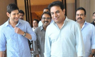 'KTR Ane Nenu' interacts with Mahesh, Koratala