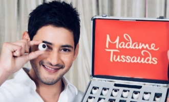 Mahesh gets statue at Madame Tussauds!