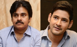 Pawan, Mahesh: Two superstars, one agenda on same day!