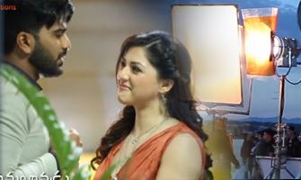 'Mahanubhavudu' Kiss Me Baby Song Making