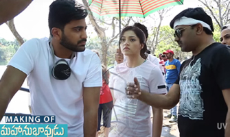 'Mahanubhavudu' Telugu Movie Making