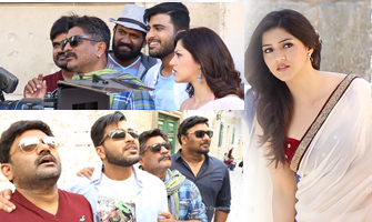 Mahanubhavudu Movie | My Love Is Back Song Making