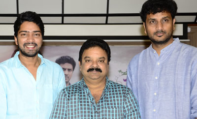 'Meda Meeda Abbayi' Success Meet