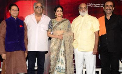 Sri Devi's Silver Jubilee Film with K. Raghavendra Rao