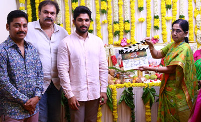 Allu Arjun's 'Naa Peru Surya Naa Illu India' Movie Launch
