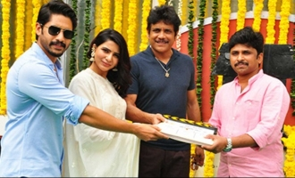 Chaitanya-Samantha movie launched in style