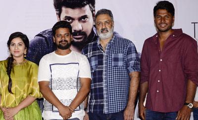 Sundeep Kishan, Damodar Prasad launch 'Napolean' Trailer