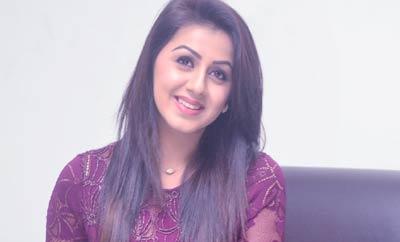 My Character in 'Maragathamani' is Suspense: Nikki Galrani