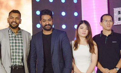 NTR at 'Bigg Boss' Telugu Press Meet