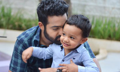 Abhay is my happiness: NTR