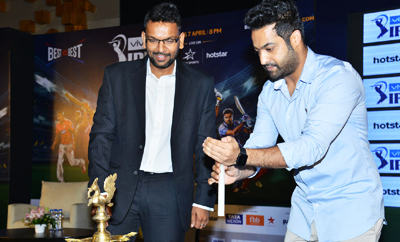 NTR At IPL 2018 Telugu Press Meet