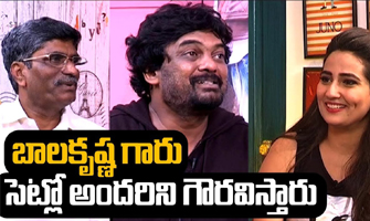 Balakrishna respects everyone on sets: Puri Jagannadh