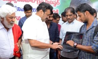 Minister Talasani Srinivas Yadav Launches Pantham Second Single Song