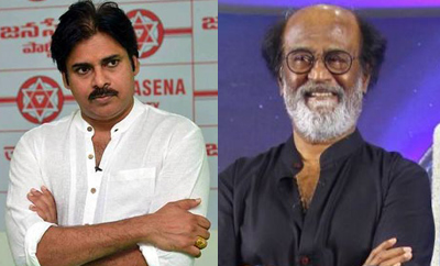 Poll ignores Pawan Kalyan; gets bullish on Rajinikanth