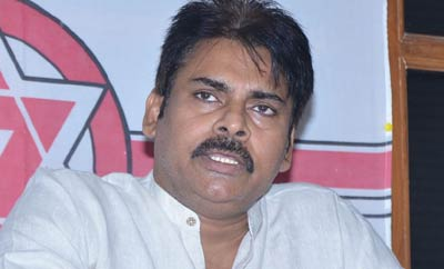 Pawan Kalyan protests against so-called disparity