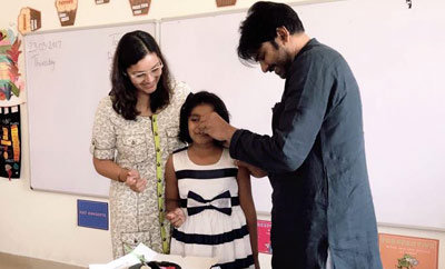 Pawan Kalyan's rare moment with daughter, ex-wife