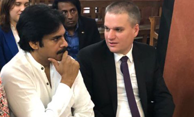 Adam Burakowski to discuss with Pawan Kalyan