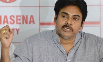 Pawan Kalyan Launches Janasena Party Website
