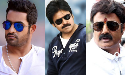 NTR, Pawan Kalyan, Balakrishna in one month?