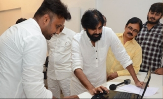 Pawan Kalyan releases song for guru's son