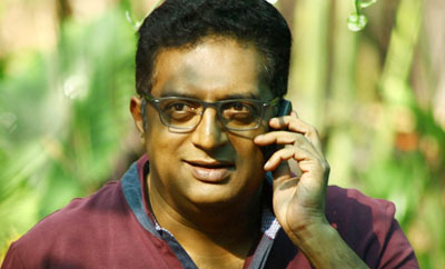 Prakash Raj as Chakrapani in author-backed film