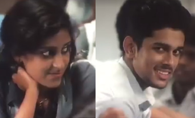 Copied?: Another romantic wink like Priya Prakash Varrier's