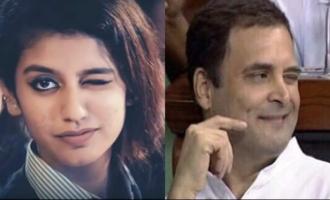 Hot Priya Varrier finds Rahul Gandhi's wink sweet!