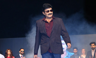 Dr. Rajasekhar walks the ramp for Marks & Spencer in style