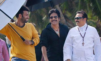 'Raju Gari Gadhi 2' On Locaation