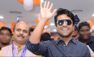 Ram Charan sparkles at IT company's event