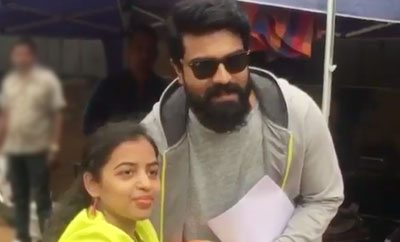 Charan gives time for this female fan
