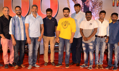 'Rangasthalam' Thank You Meet