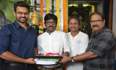 Sai Dharam Tej's New Film Launch