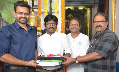 Sai Dharam-Karunakaran movie launched