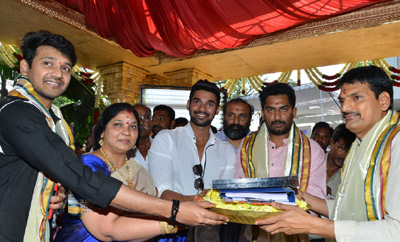 Srinivas's romantic thriller launched