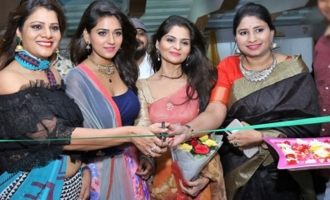 Shalu Chourasiya Inaugurates Silk India Expo