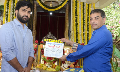 Sharwanand-Hanu's movie launched
