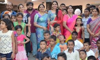 Shivani Rajashekar Birthday Celebrations At Devnar School For The Blind